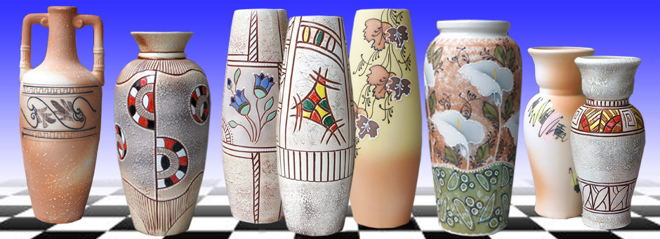 Настольные вазы
