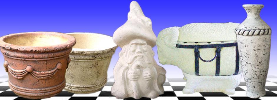Тандыры, вазы, фигурки из шамота